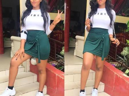 Meet The Beautiful Imo State Girl With Good Fashion Styles