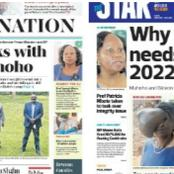 Daily Nation, The Standard, The Star Newspapers Headlines Review