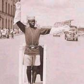 Photo of a Police Officer Controlling Traffic in 1945 Excites Kenyans