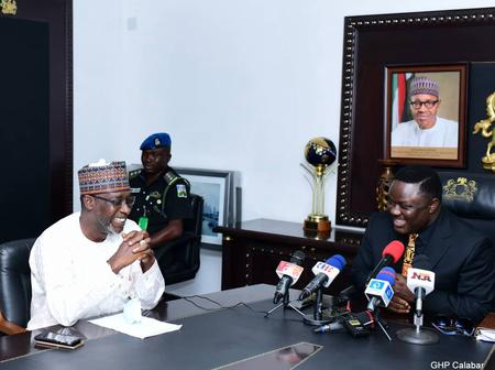 Agro-industrialization: You're a trailblazer in food security, Buhari's Minister tells Ayade