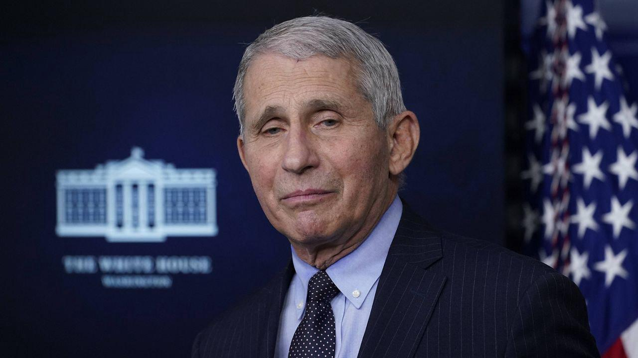 Dr Anthony Fauci on Sunday said COVID-19 cases will continue to rise, but he does not see the need for lockdowns again