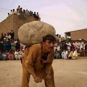 Pour être un homme polygame au Pakistan, il faut porter une lourde pierre sur le dos durant 1 heure!