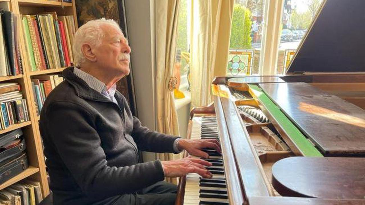 'Piano Grandad', 85, delights TikTok with performances in wife's memory