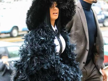 See Lovely Photos Of Cardi B & Her Bodyguard, They Look So Good Together