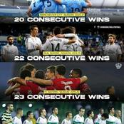 4 Teams With Most Consecutive Wins In 21st Century. Can Man City Set A New Record?
