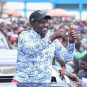 Ruto In Muranga: I Will Continue Supporting The President