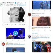 Fans Go Hard On Zlatan Ibrahimovic After He Asked This Question On Twitter