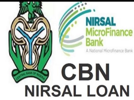NIRSAL Microfinance Bank reveals the new CBN Loan Application portal for Government N10M Grant.