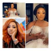 Popular Nollywood Actress Got Married Today, See Photos Of Her In A Wedding Gown.