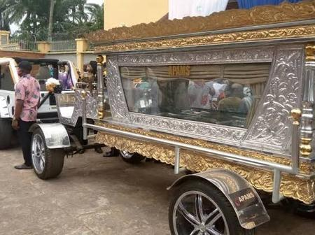 Just 2 Months After He Was Buried In A Golden Casket, See How His Businesses Are Going.