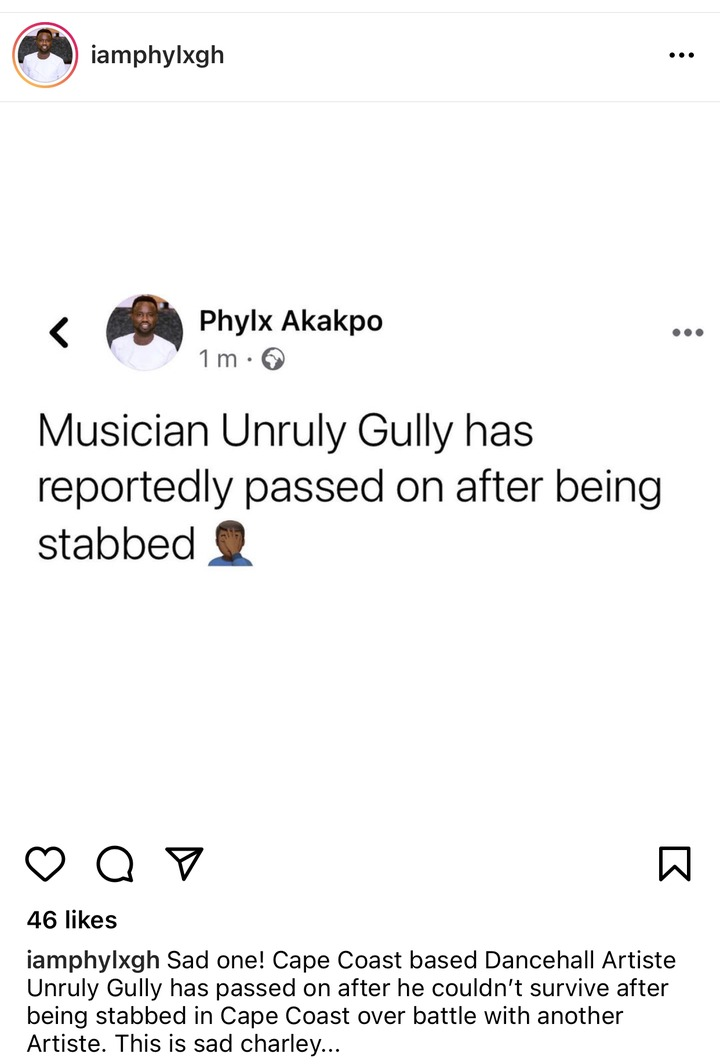 fbc9900bef424957887cbc8b0e032283?quality=uhq&resize=720 - Upcoming Cape Coast Based Musician Stabbed To Death; How His Body Was Taken To Mortuary Surfaces