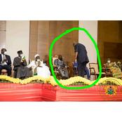 Did Mahama Bow To Akufo-Addo? - Check The Real Facts