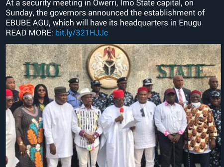 Man Reacts As South East Governors Launch Security Outfit