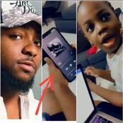 Little Girl Causes Stirs Online After What She Did While Listening To Davido's Song