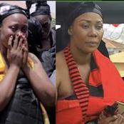 Popular Kumawood Actress 'Borga' Sylvia And Her Twin Sister Mourns Their Mother