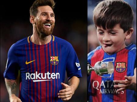 Lionel Messi Son Is Blessed! He Currently Plays For Barcelona Escola And He Is Improving Very Well