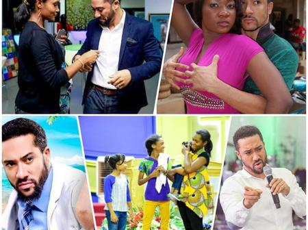 Remember Majid Michel Who Quit Acting To Become A Pastor? See Photos Of His Wife And Kids