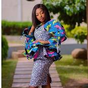 Gorgeous And Flawless Ankara Skirt And Blouse For Beautiful And Classy Queens.