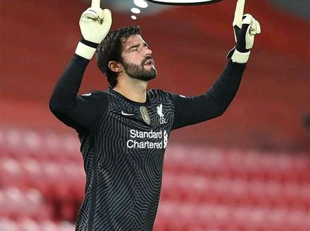 Opinion: Alisson Becker walking out to face Leicester City Football Club on Sunday
