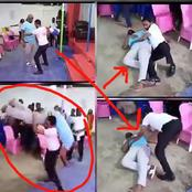 In the name of deliverance: See what this pastor was doing to a man.