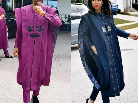 Who rocked the outfits better? See 8 times this lady has copied Ebuka Uchendu's Fashion styles.
