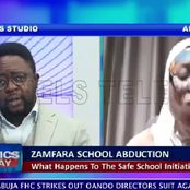 Drama as Channels TV host interrupts Aisha Yesufu for using strong words on the President (Video)