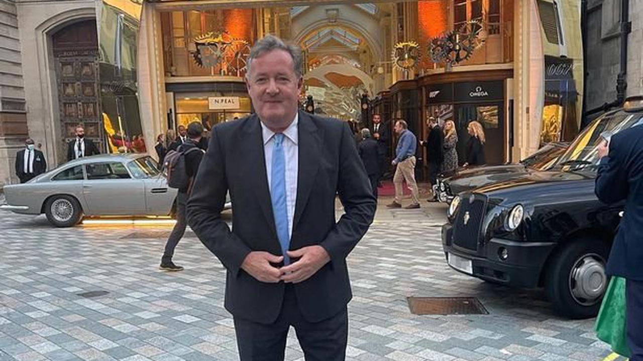 Piers Morgan teases he's replaced Daniel Craig as James Bond in 'breaking news'