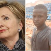 After Hillary Clinton Asked Buhari To Stop Killing Protesters, Checkout What A Northerner Told Her