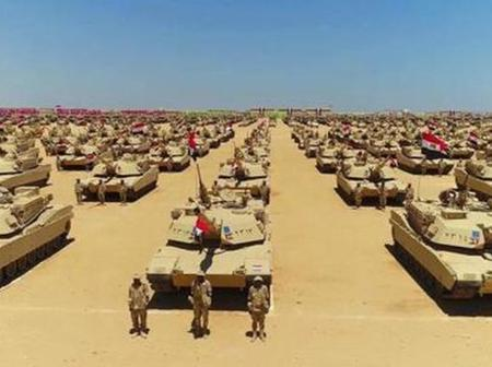 See the most powerful militaries in Africa