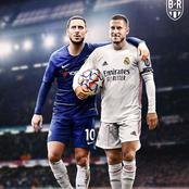 Chelsea could welcome Eden Hazard to Stamford Bridge in the UCL semi final