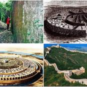 Pictures With Information On Benin's Famous Chinese-style World Wall