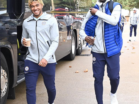 Few Hours To Chelsea Vs Man United Match, Chelsea Players Arrives Manchester Today (Photos)