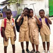 Reprise des cours: Ramba Junior aperçu dans sa tenue d'école