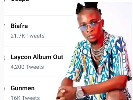 Laycon is trending on twitter, see the reason behind his latest trend.