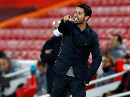 Arteta says he is responsible for Arsenal defeat