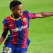 Super nouvelle Pour Barça :  Ansu Fati sera avec l'équipe pour la finale de la Coupe du Roi