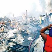 Traders Count Losses As Fire Inferno Razes Shops to Ashes in Akure