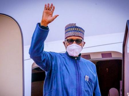 Buhari Held Hostage By Nigerians At London As He Went For Medical Check Up.