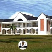 Hon. Didmus Baraza Shows Off The Artistic Impression Of A Classroom Block Being Built In Kimilili