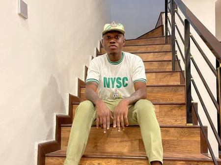 See the popular Nigerian musician that just concluded his NYSC program
