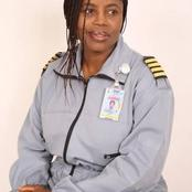 Check Out Nigerian First Female Pilot And Her State Of Origin