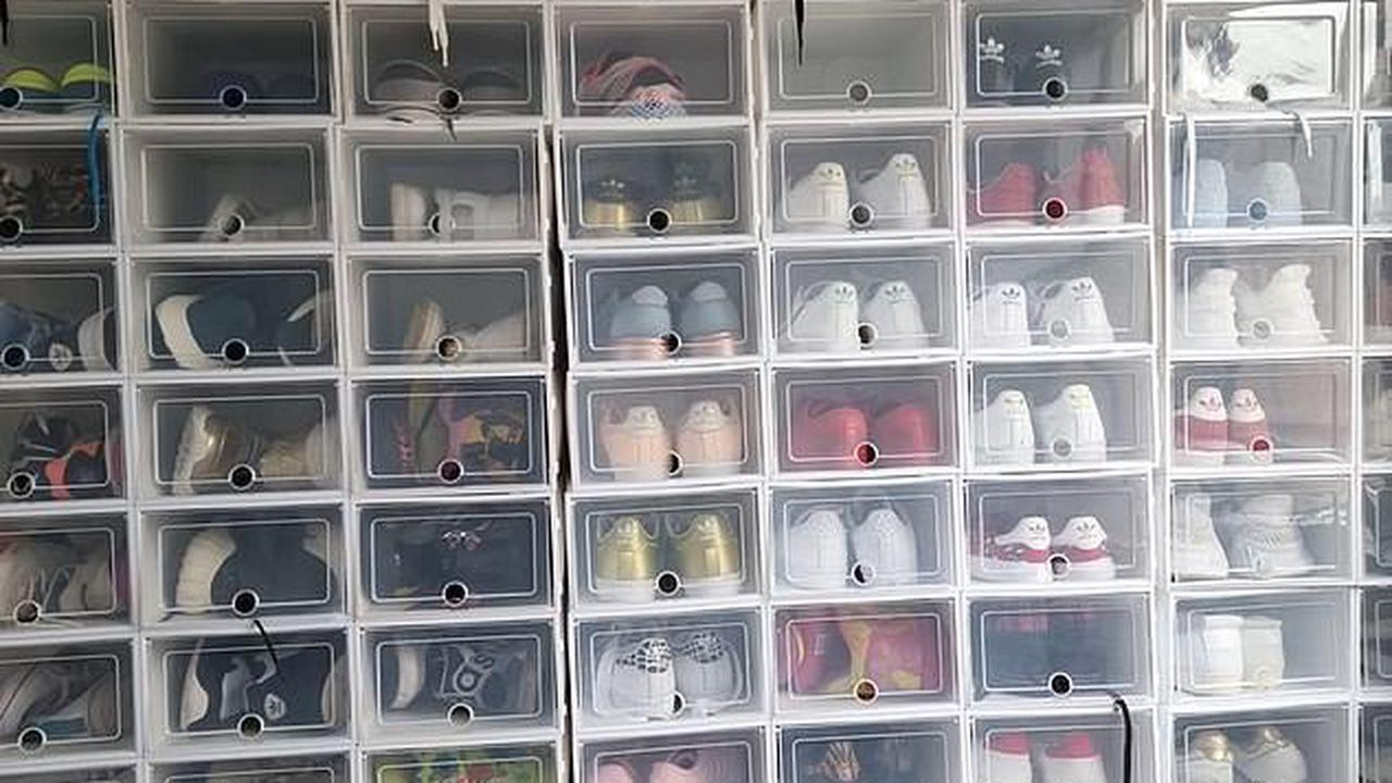 'This is insane': Mum's super-organised shoe cupboard divides the internet - so what do you think?