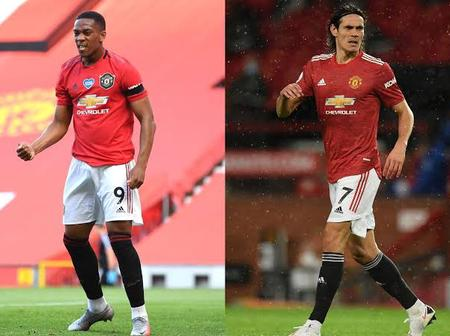 Anthony Martial or Edinson Cavani: Who is Manchester United's better center-forward