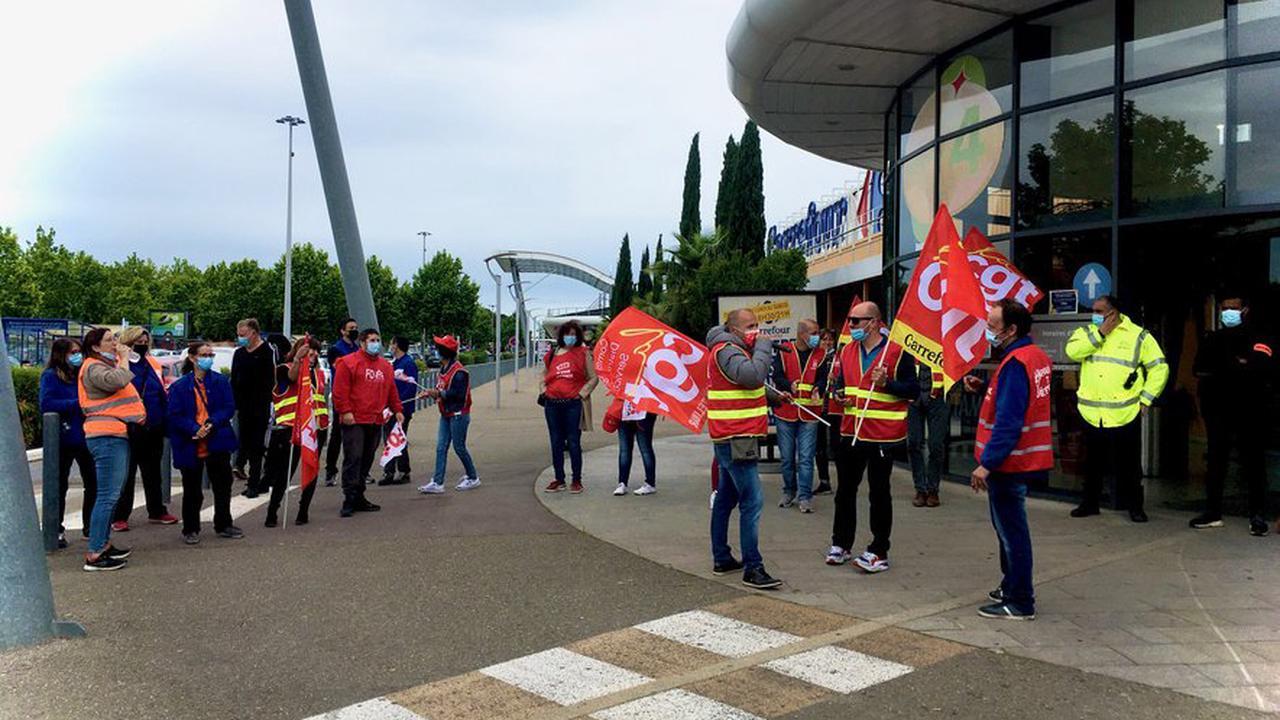 Carrefour Nîmes ouest : le projet de location-gérance alarme les salariés