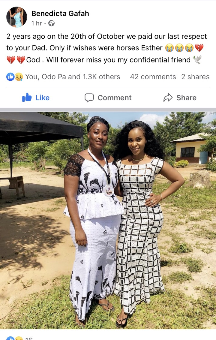 fc68828e6d9ac38e3601847a856b80c7?quality=uhq&resize=720 - Benedicta Gafah Reveals A Strange Secret About Her Sister Who Died In A Motor Accident