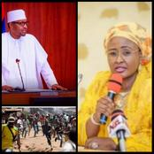 Today's Headlines: Aisha Buhari Breaks Silence On School Abductions; Gunmen Attack Delta community