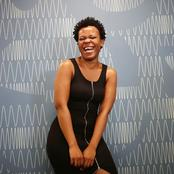 Zodwa's snake does strange things to her and she doesn't like them.