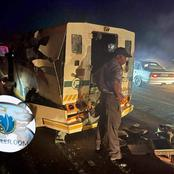 Robbers blow up cash van in CIT heist