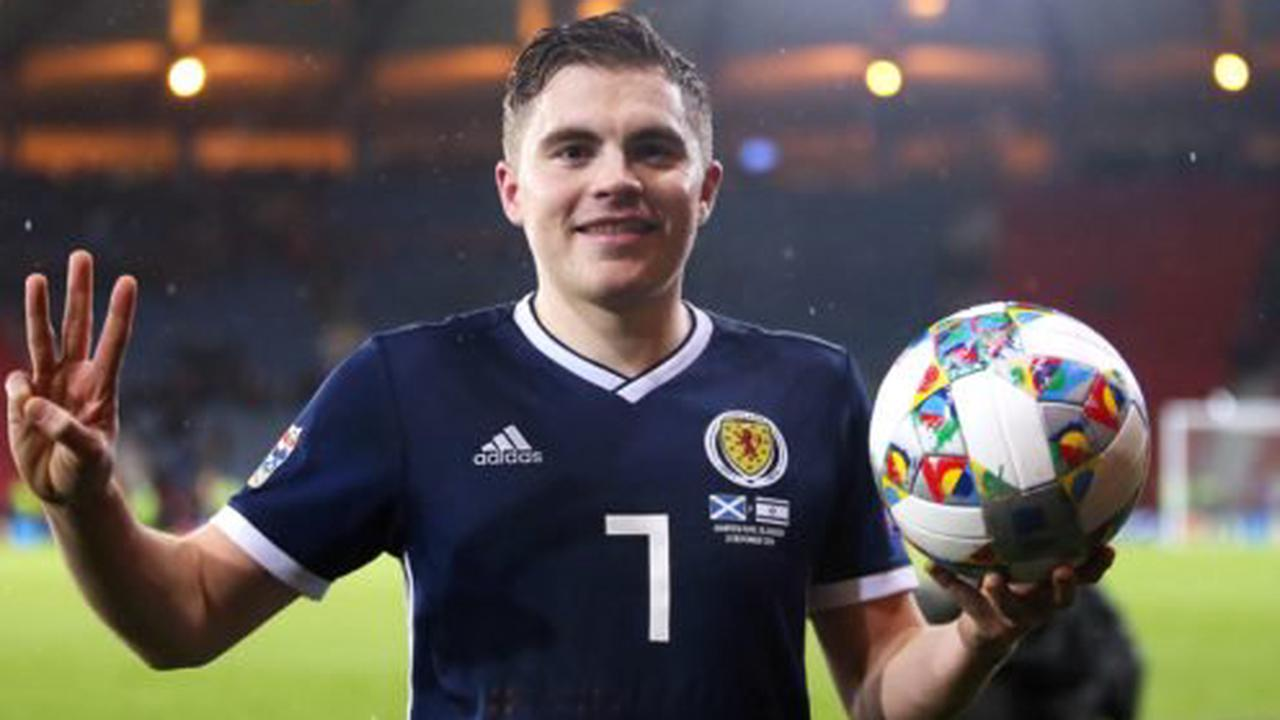 James Forrest relishing return to the fold with Scotland