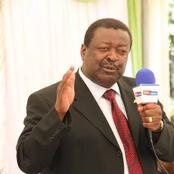 Mudavadi Finally Clears The Air on Alleged Endorsement For The Top Seat by Uhuru